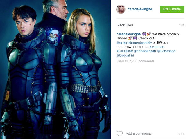 First Look Cara Delevingne Shares Sneak Peek Of New Film