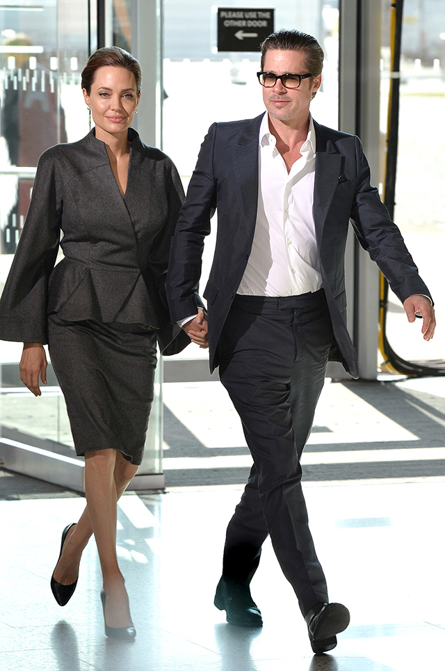 Brad Pitt And Angelina Jolie Married In France Buro 24 7