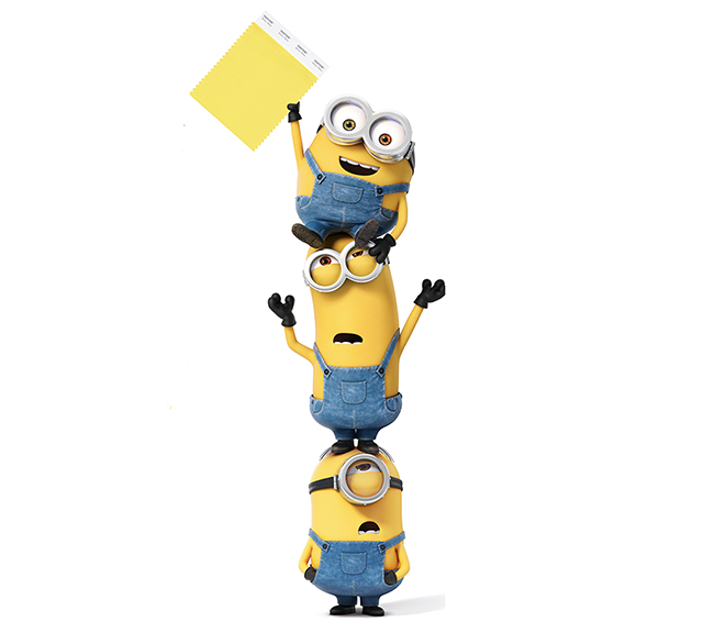 The Despicable Me Minions are honoured with their own pantone in ...