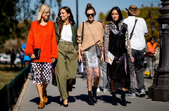 Part Four The Best Street Style Looks From Paris Fashion Week Buro 24 7