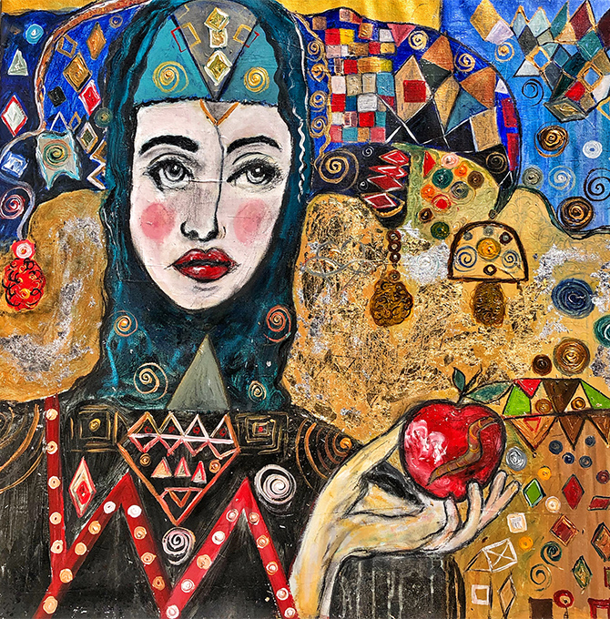 How Suzi Fadel Nassif Used Art As An Escape During The 2006